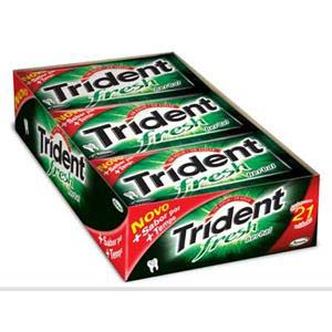 CHICLE TRIDENT HERBAL FRESH 21X5UN
