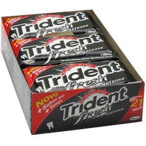 CHICLE TRIDENT FRESH INTENSE 21X5UN
