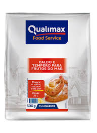 CALDO E TEMP.P/FRUT.DO MAR QUALIMAX 500G