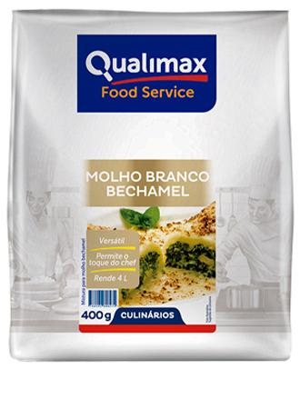 MOLHO BRANCO BECHAMEL QUALIMAX 400 G