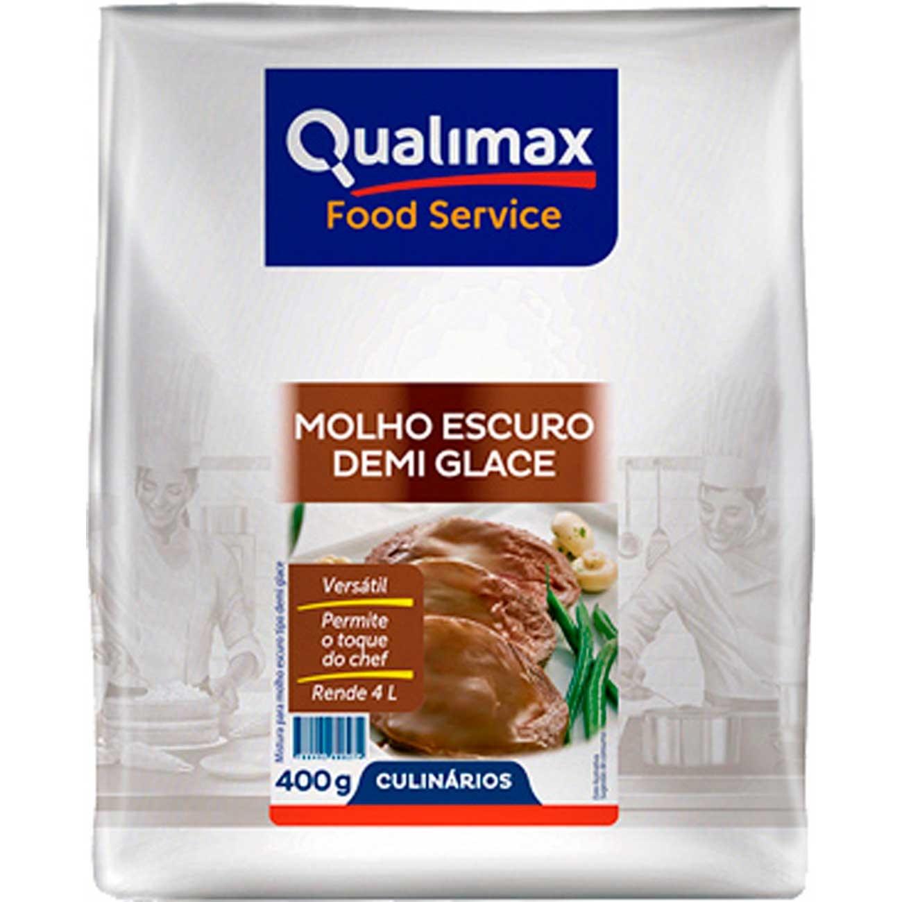 MOLHO ESCURO DEMI GLACE QUALIMAX 400 G