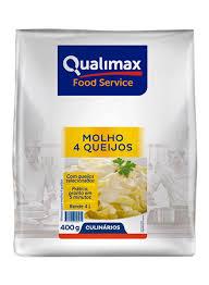 MOLHO 4 QUEIJOS  QUALIMAX 400 G