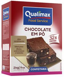 CHOCOLATE EM PÓ 32% QUALIMAX 2 KG