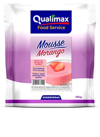 MOUSSE QUALIMAX MORANGO 510 G