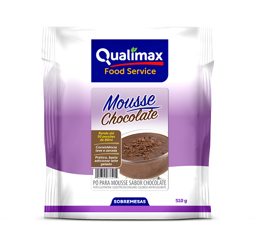 MOUSSE QUALIMAX CHOCOLATE  510 G