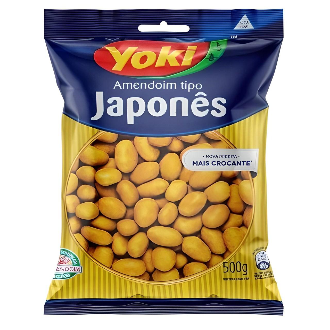 AMENDOIM JAPONES YOKI 500 G