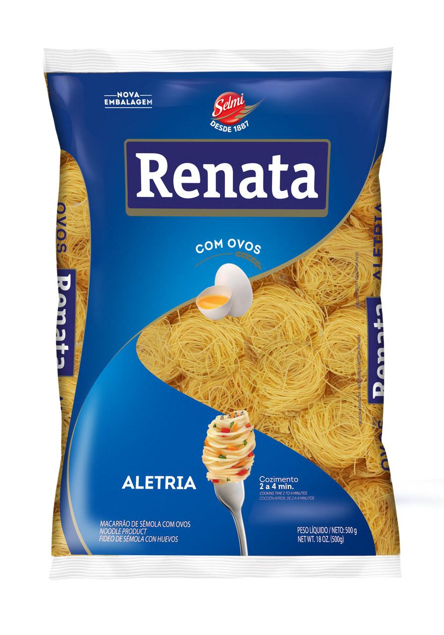 MASSA RENATA COM OVOS.ALETRIA(CAB. ANJO)500G