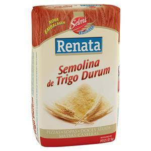 FARINHA SEMOLI TRIG DURUM RENATA 1 KG