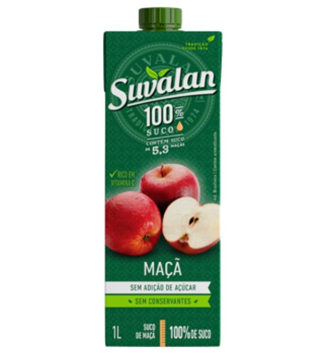 SUCO SUVALAN S/ACUCAR MACA 1 LT