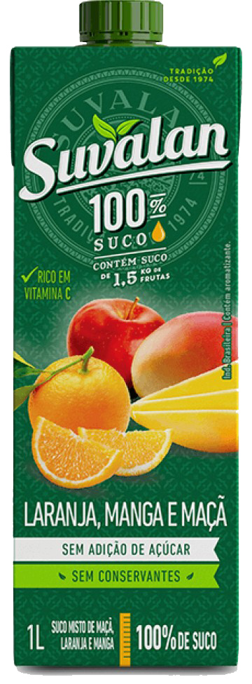 SUCO SUVALAN S/AC.MIX MACA/LAR/MAN1LT
