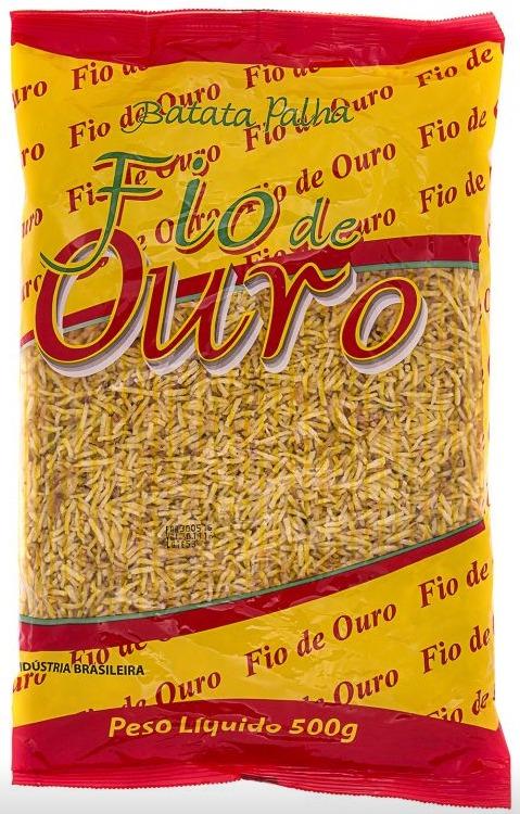BATATA PALHA FIO DE OURO 1 KG