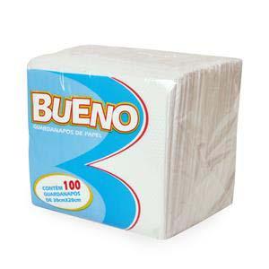 GUARDANAPO BUENO 20X20 CM 10X100 UN