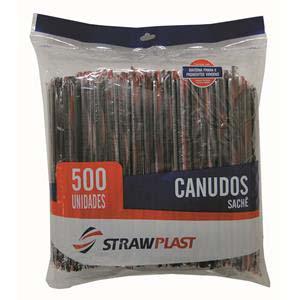 CANUDOS EMB.INDIV.PRETO 500 UN (CS332)