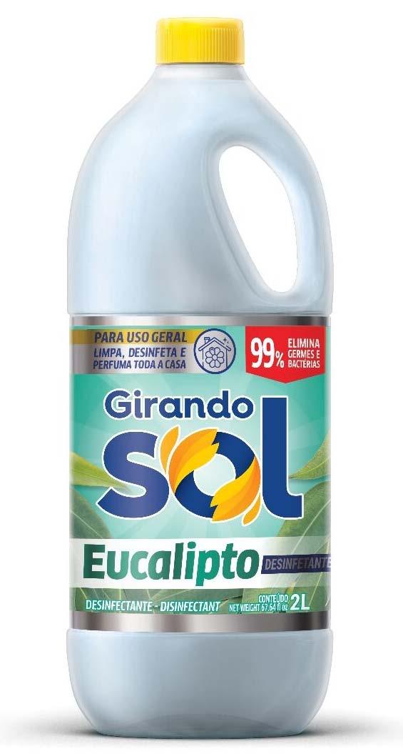 DESINF.GIRANDO SOL EUCALIPTO 2 LT