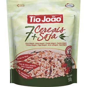 arroz Tio João 7 cereais + soja 500g