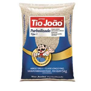 arroz Tio João parboilizado 6x5 kg
