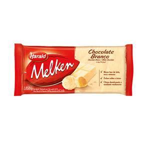 CHOCOLATE MELKEN BRANCA 1,05 KG