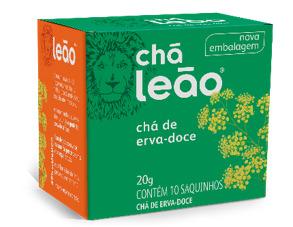 CHA LEAO ERVA DOCE 10 SQ