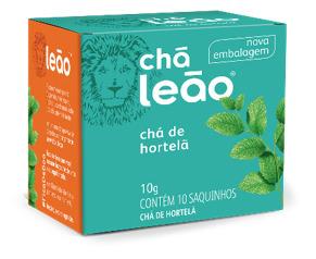CHA LEAO HORTELA 10 SQ