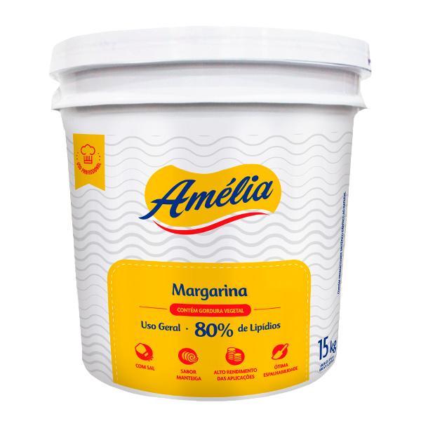 MARGARINA AMELIA C/SAL U.GERAL 15 KG 80%