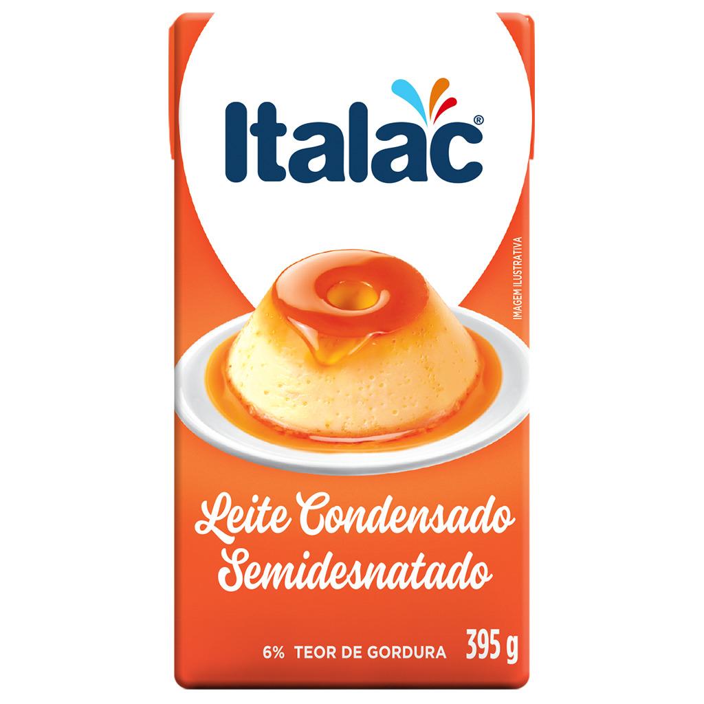 LEITE CONDENSADO ITALAC TP 395 G