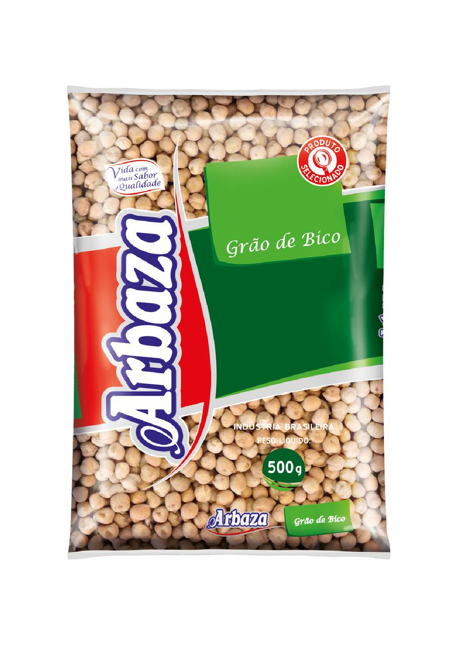 GRÃO DE BICO ARBAZA 500 G