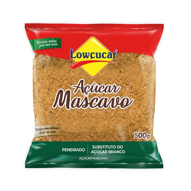 açúcar mascavo lowçucar 500 g