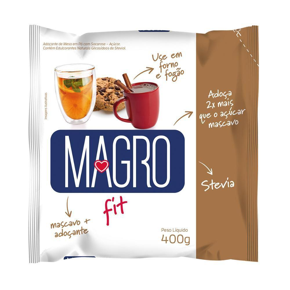 açúcar mascavo light magro 400 g