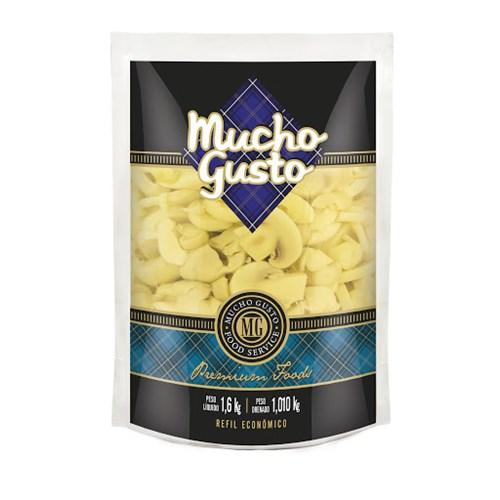 COGUMELO FATIADO MUCHO GUSTO POUCH 1,01 KG