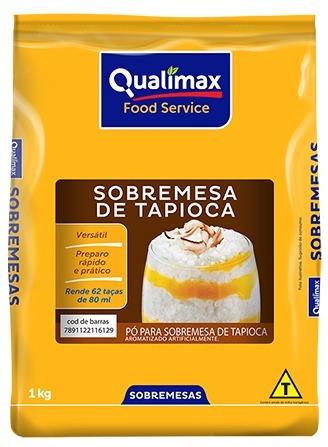 TAPIOCA PO P/SOBREMESA QUALIMAX 1 KG