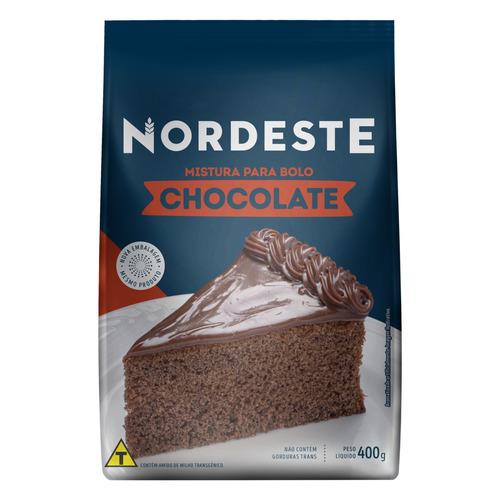 MISTURA P/BOLO CHOCOLATE NORDESTE 400 G