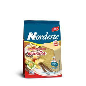 MISTURA P/BOLO BAUNILHA NORDESTE 400 G