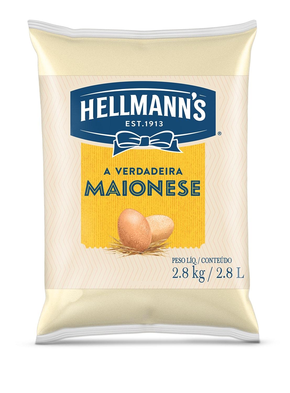 MAIONESE HELLMANN S BAG 2,8 KG