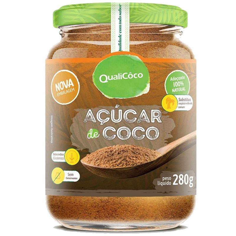 AÇÚCAR DE COCO QUALICÔCO 280G