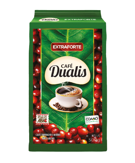CAFE TORR.MOIDO EXT.FORTE DUALIS 500 G
