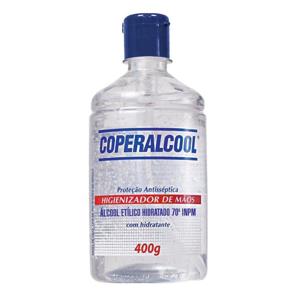 ALCOOL GEL HIGIENIZAD.COPERALCOOL 400G