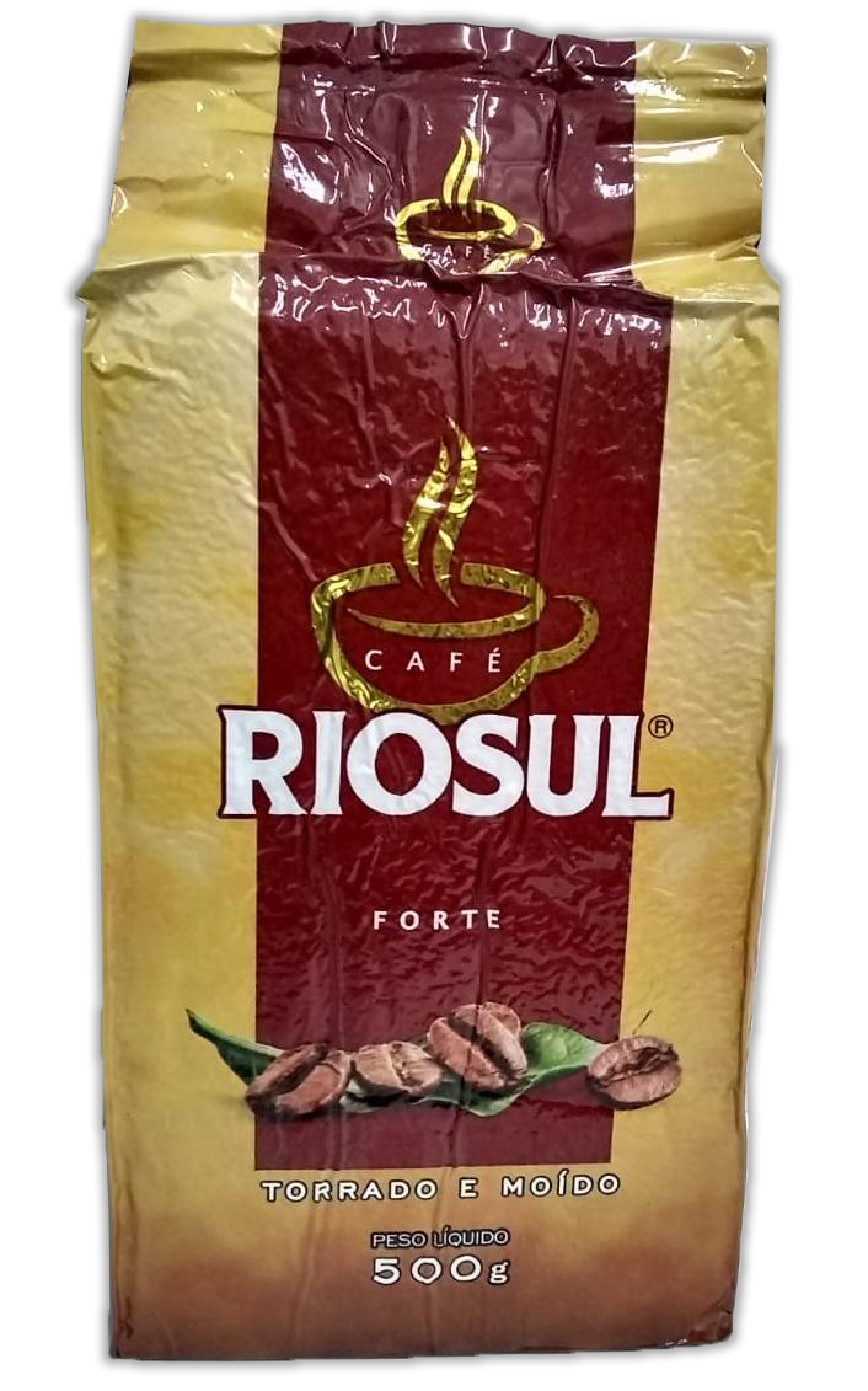 CAFÉ TORRADO MOÍDO EXTRA FORTE RIOSUL 500G