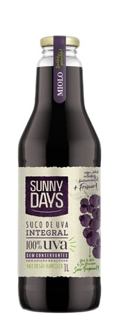 SUCO SUNNY DAYS DE UVA INTEGRAL 1 LT