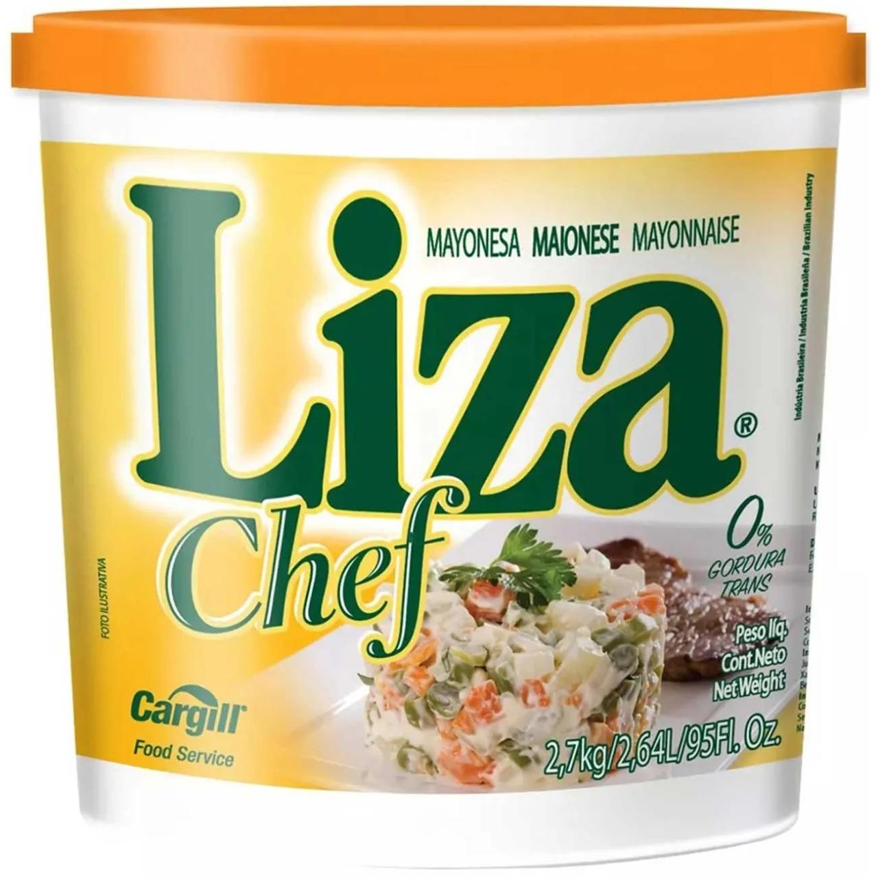 MAIONESE LIZA CHEF 2,7 KG