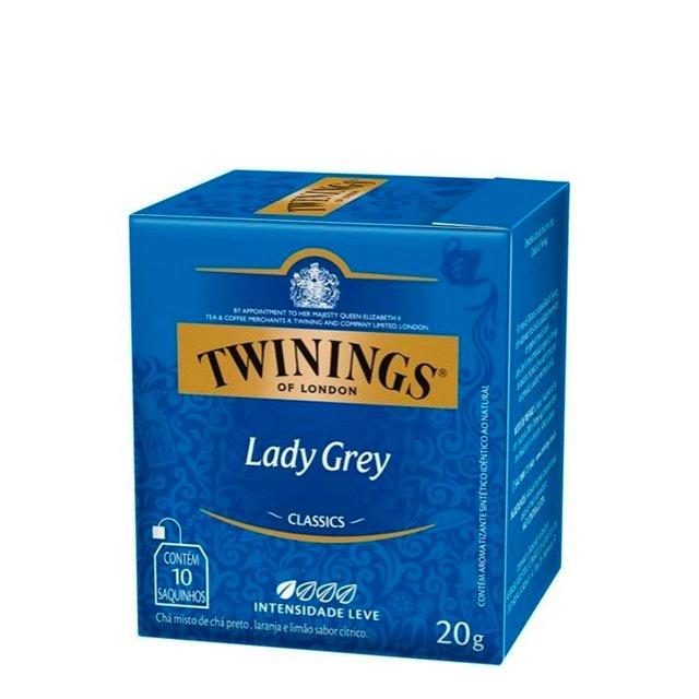CHA TWININGS LADY GREY 10 ENV.