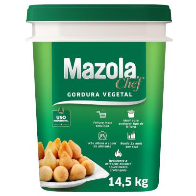 GORDURA VEGETAL MAZOLA CHEF (ALGODAO) 14,5 KG