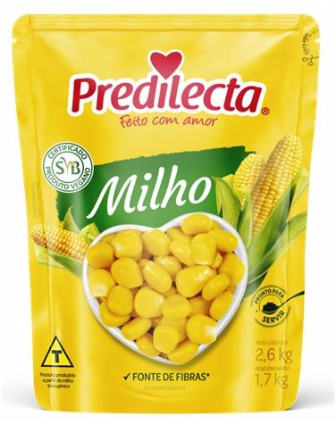 MILHO VERDE PREDILECTA 1,7 KG POUCH