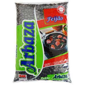 FEIJÃO PRETO ARBAZA TIPO1 10X1 KG