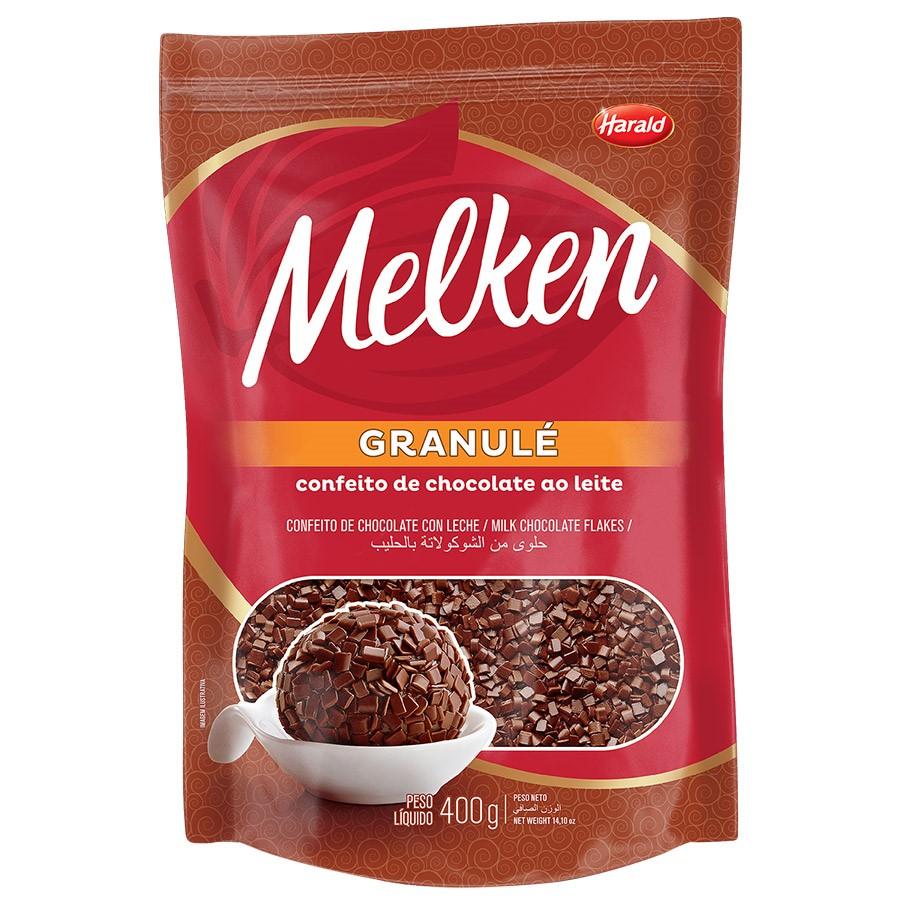 GRANULE MELKEN CHOCOLATE AO LEITE 400 G