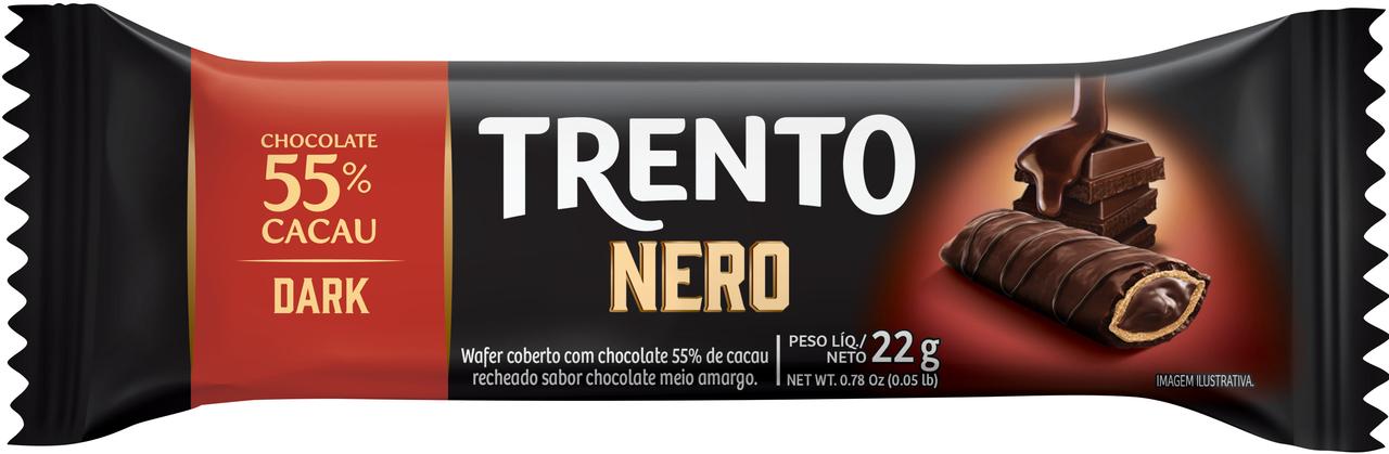 CHOC.TRENTO NERO DARK 55% CACAU 16X22 G