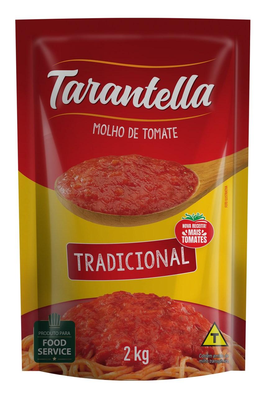 MOLHO DE TOMATE TARANTELLA TRADICIONAL SACHÊ 2 KG
