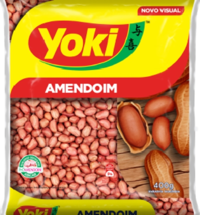 AMENDOIM S/ CASCA YOKI 400 G