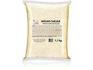 MOLHO PARA SAL CAESAR POUCH JUNIOR 1,1 KG