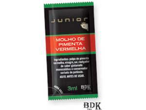 SACHE MOLHO PIMENTA VERM.JUNIOR252X3ML