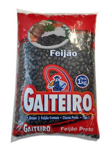 FEIJAO PRETO GAITEIRO TIPO1 1 KG